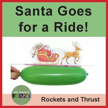 Christmas Science: Santa Balloon Rocket
