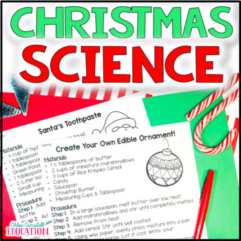Christmas Science Station Activities