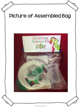 Christmas Science in a  Bag