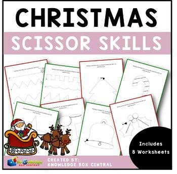 Christmas Scissor Skills - EBOOK