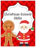 Christmas Scissors Activties