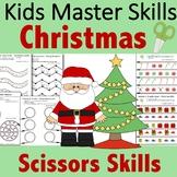 Christmas Scissors Skills Activities