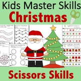 Christmas Scissors Skills Activities
