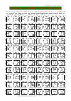 Christmas Scrabble Letter Tile Game