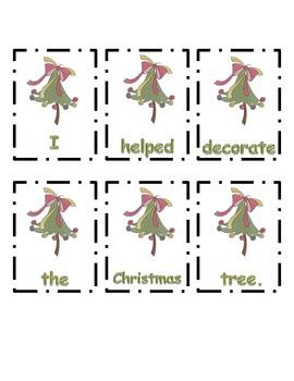 Christmas ~ Scrambled Sentences