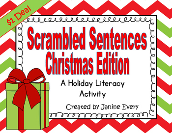Christmas Scrambled Sentences
