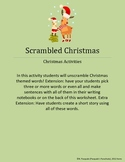 Christmas Scrambled