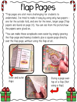 Christmas Writing Activity Making a Student Scrapbook