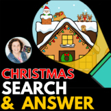 Christmas Search & Answer Questions + Positional Concepts