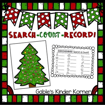 Christmas Search, Count, & Record!