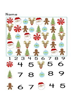 Christmas Search and count