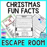 Christmas Season ESCAPE ROOM - December Festive Facts