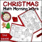 2nd Grade Morning Work -  Math - Christmas