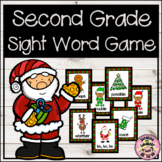 Christmas Second Grade Sight Word Game