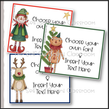 It is an image of Soft Secret Santa Gift Tags Printable Free
