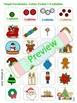 Christmas Segmenting Multisyllabic Words- Phonological Awareness