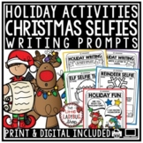 Christmas Selfie Writing Prompts 3rd Grade, 4th Grade Christmas Writing Activity