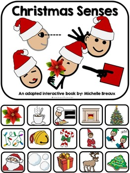 Christmas Senses- An Adapted Book on the 5 Senses {Autism, Special Ed}
