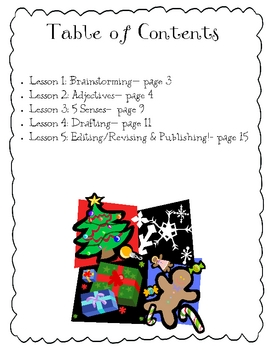 Christmas  Senses Poetry
