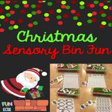 Christmas Sensory Bin Activities