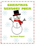 Christmas Sensory Poem