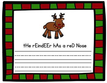 Christmas Sentence Activites