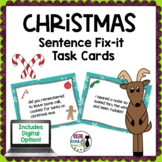 Christmas Editing Task Cards