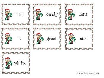 Christmas Sentence Mix-Up
