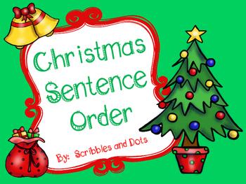 Christmas Sentence Order
