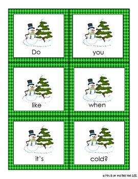 Christmas Sentence Scramble