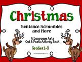 Christmas: Sentence Scrambles & More ~ Language Arts Activities
