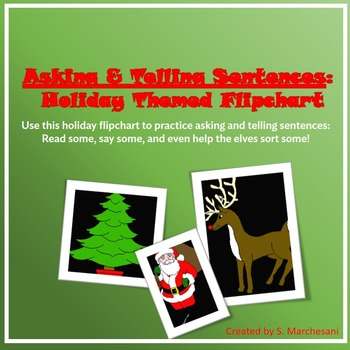 Christmas Sentences: Asking and Telling