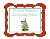 Christmas Sentences  Asking/Telling