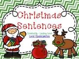 Christmas Sentences  {Pocket Chart Stations}