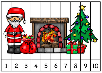 Christmas Sequence Puzzles