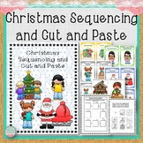 Christmas Sequencing and Cut and Paste Set