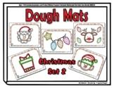 Christmas Set 2 Dough Mats - 5 Mats