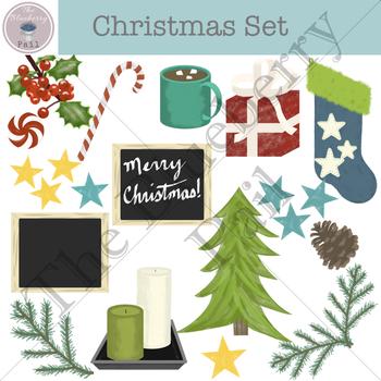 Christmas Clip Art Set