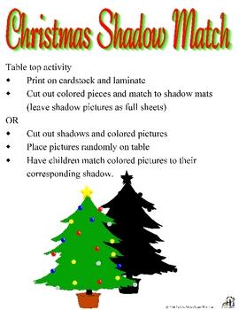 Christmas Shadow Match