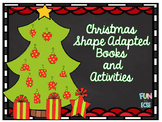 Christmas Shape Adapted Books and Activities