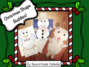 Christmas Shape Buddies!