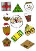 Christmas Shape Match