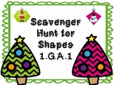 Christmas Shape Scavenger Hunt
