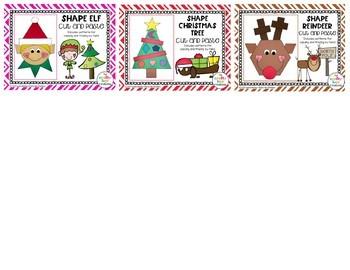 Shapes Mini Craft Bundle {Christmas}