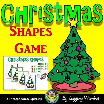 Christmas Shapes Game