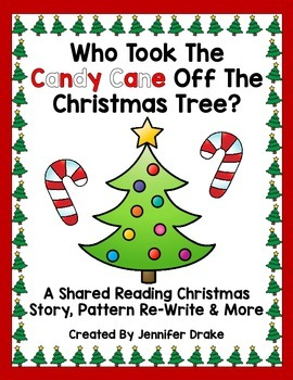 Christmas Shared Reading Pack!  Story, Pattern Re-Write, Ind'l Book & Craft!