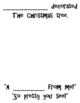 """Christmas Shared Reading Pack """"Who Decorated The Christmas Tree?"""" CC Aligned!"""