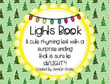 Christmas Shared Reading Rhyming Book; 'Lights!' ~Surprise End Will De'LIGHT!'