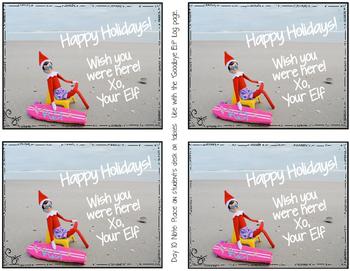 Christmas Shelf Elf {Dalily Log and Elf Notes}
