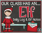 Christmas Shelf Elf {Dalily Log and Elf Notes}